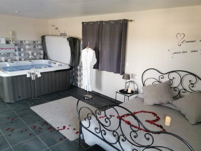 chambre d'hôtes avec spa Ales